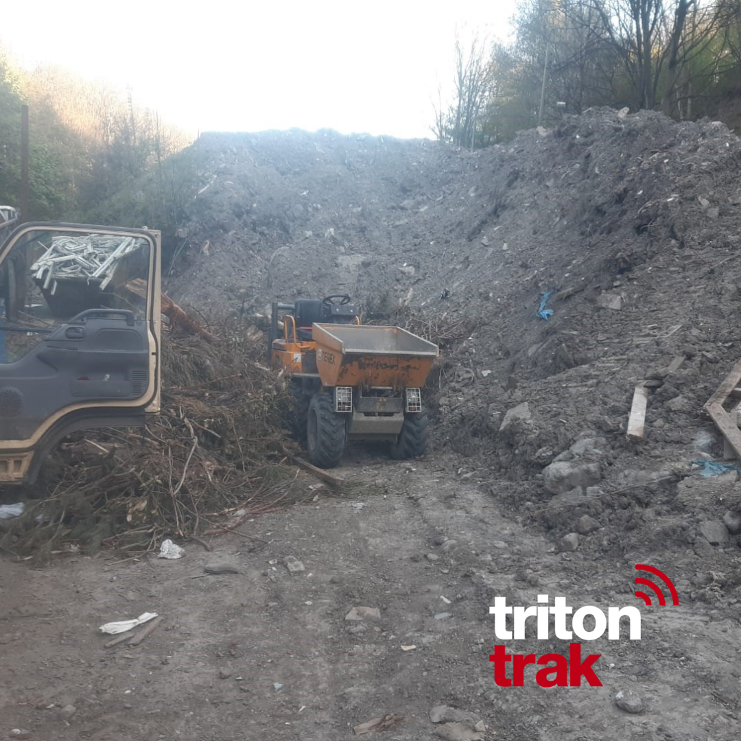 Stolen Plant recovered using TritonTrak system